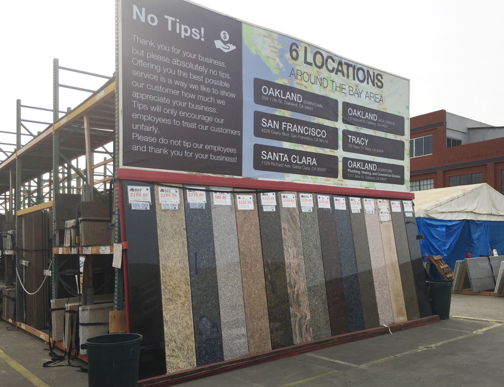 Oakland Jack London Square --- Pro Warehouse with Showroom