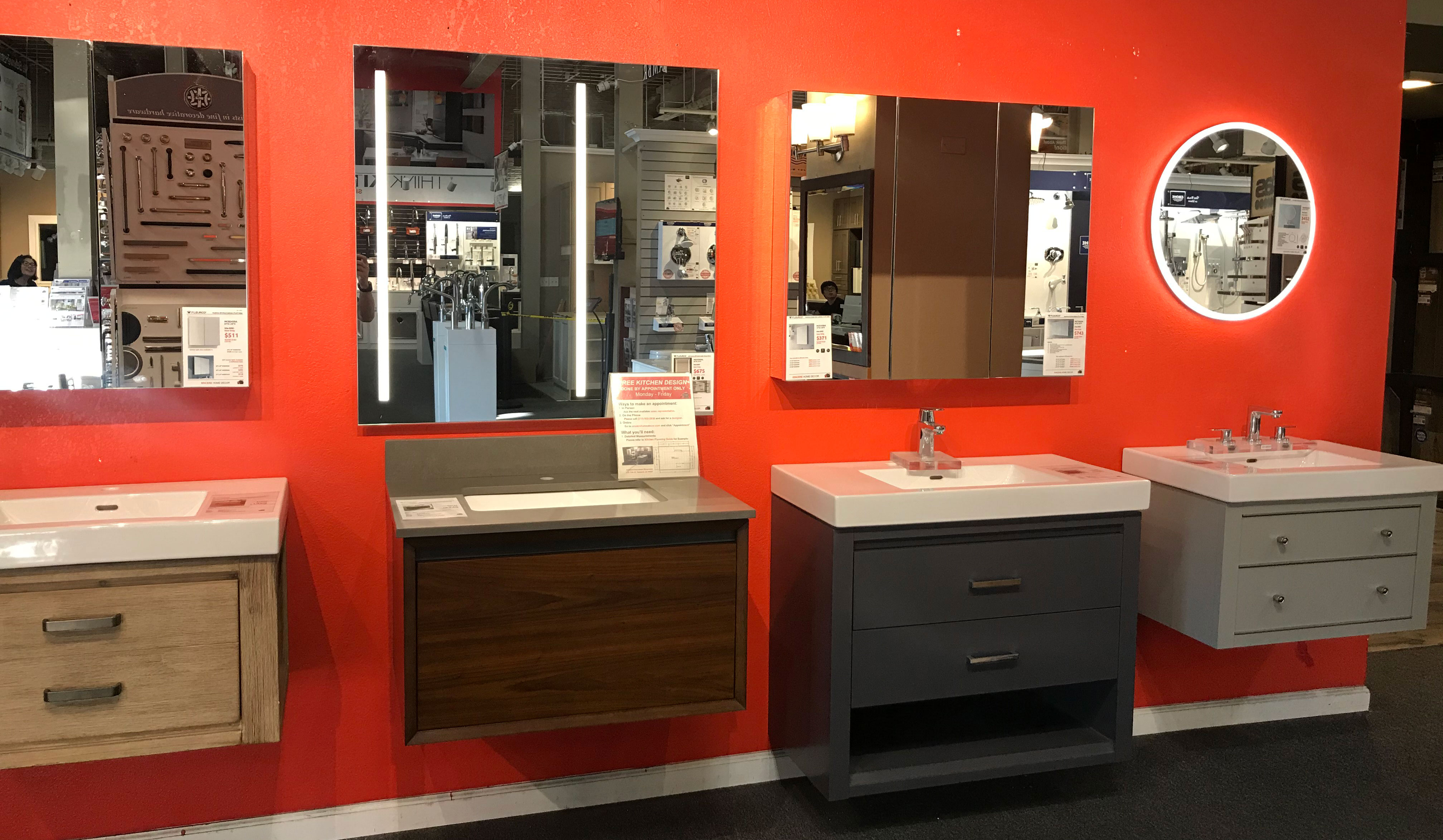 oakland downtown deluxe showroom with design center