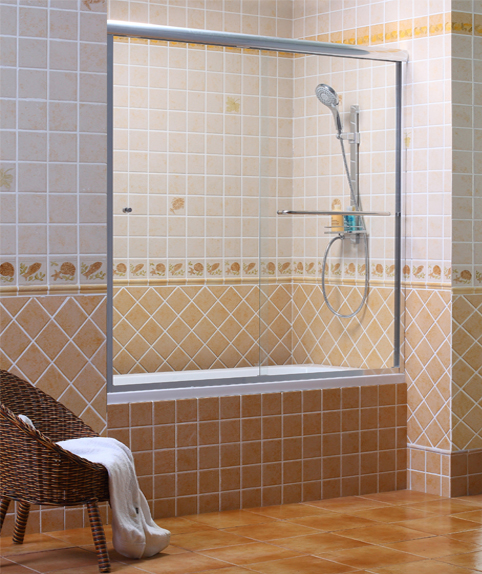 how to clean shower screens with clr