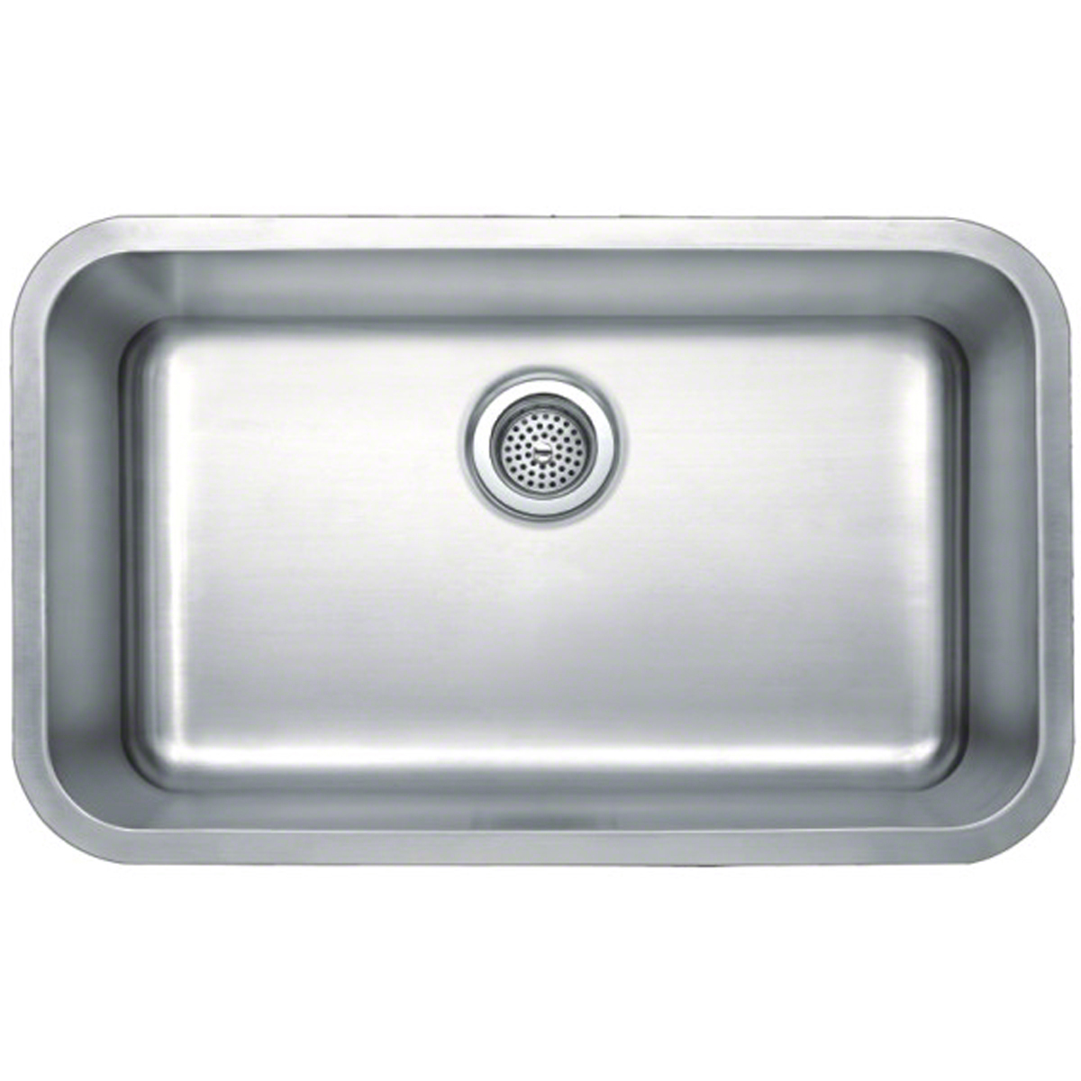 Kitchen Single Bowl Sinks Msi kitchen under mount sink sin 18 sinbwl 3018 sinere home decor click to view large image workwithnaturefo