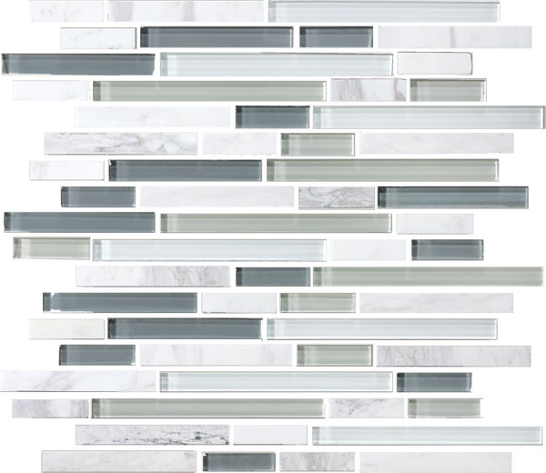 Bedrosians Tile Glass Tiles GLSECPLNR-ET