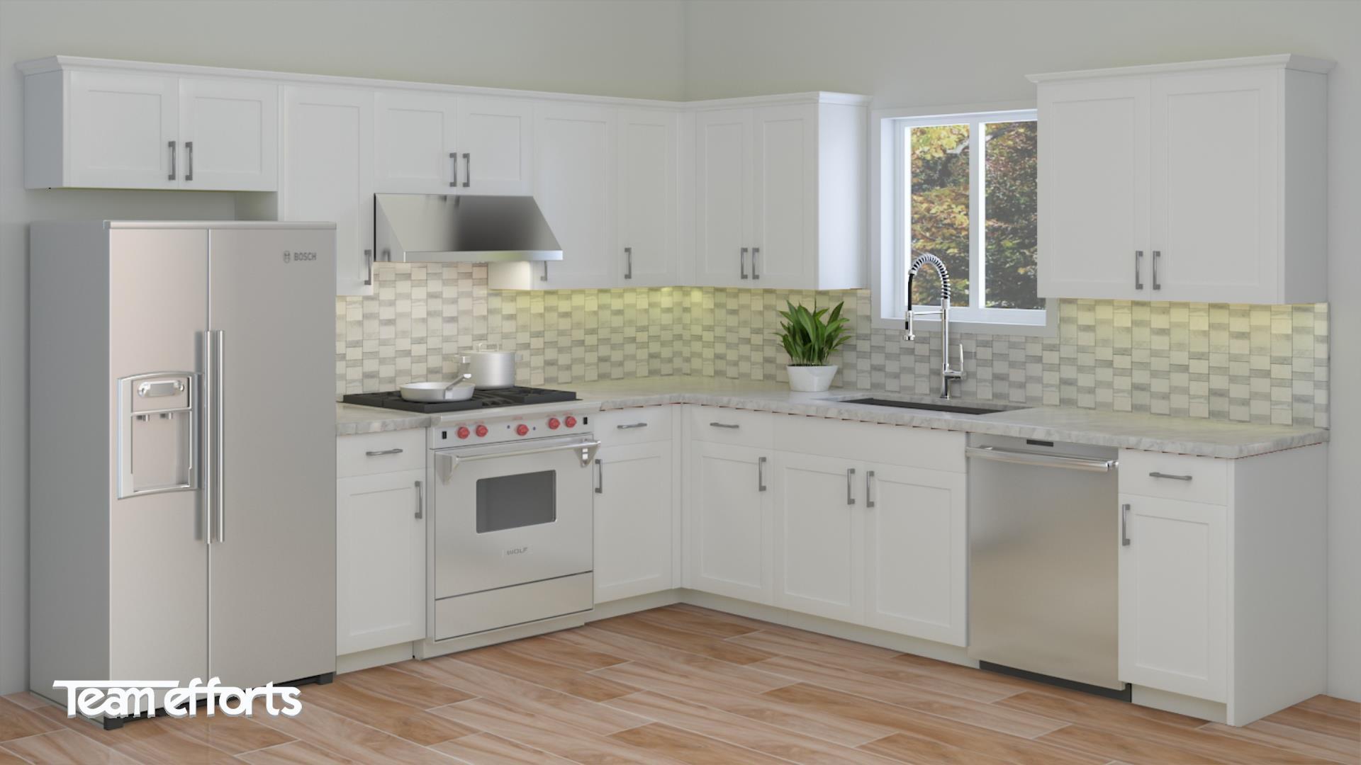 Kitchen Cabinet   Bath Vanity   Granite Countertop   Sink   Faucet ...